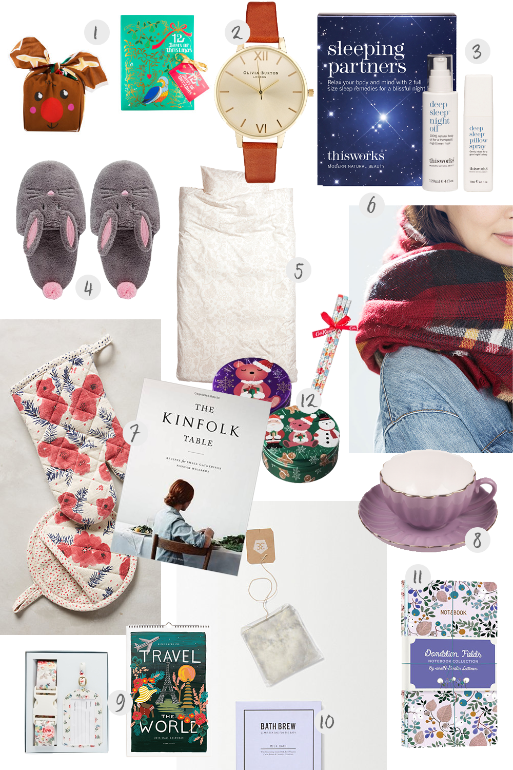 Christmas Gift Guide For Her Miel Caf