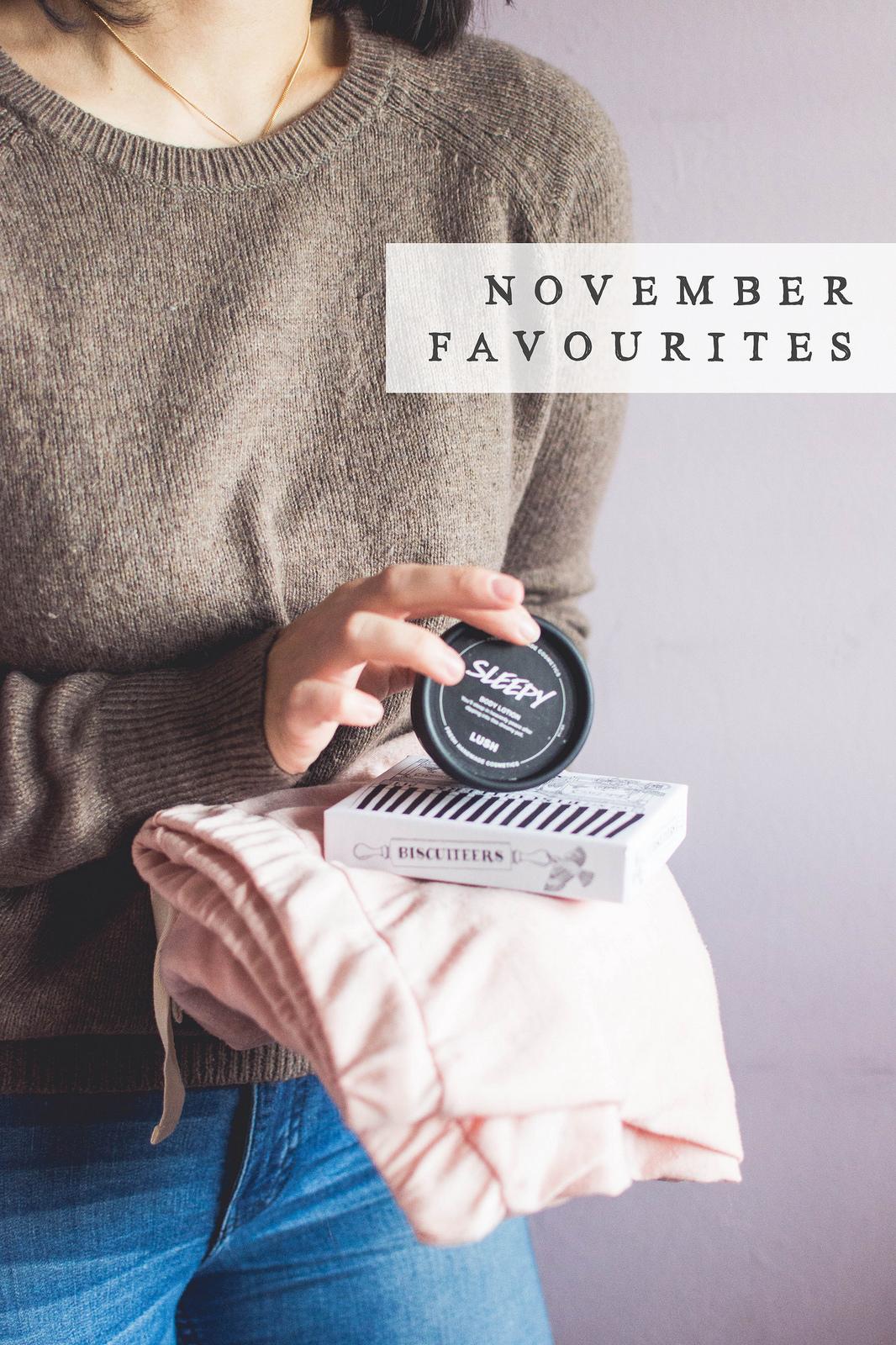 In November I