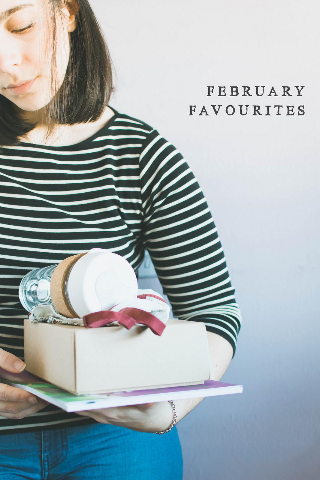 In February I